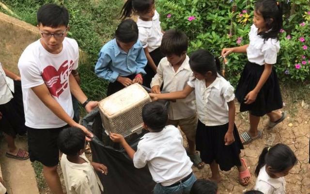 11月‧青年向南躍─青年海外志工真是不「柬」單